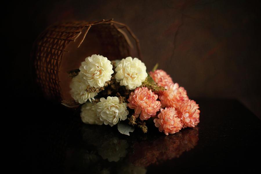 Composition Photograph - Flowers by Luiz Laercio