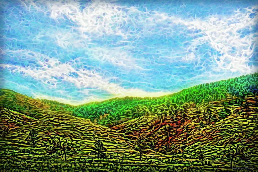 Flowing Hills Dream by Joel Bruce Wallach