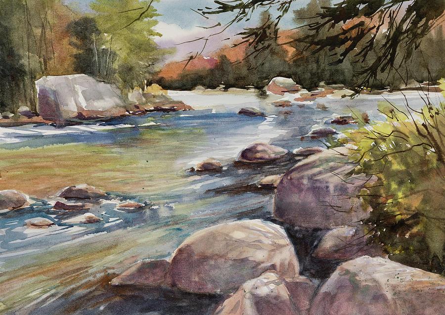 Flowing Moose by Judith Levins