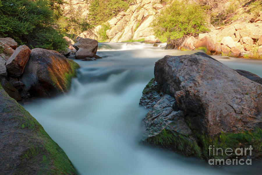 Flowing Water of the Platte by Steve Krull