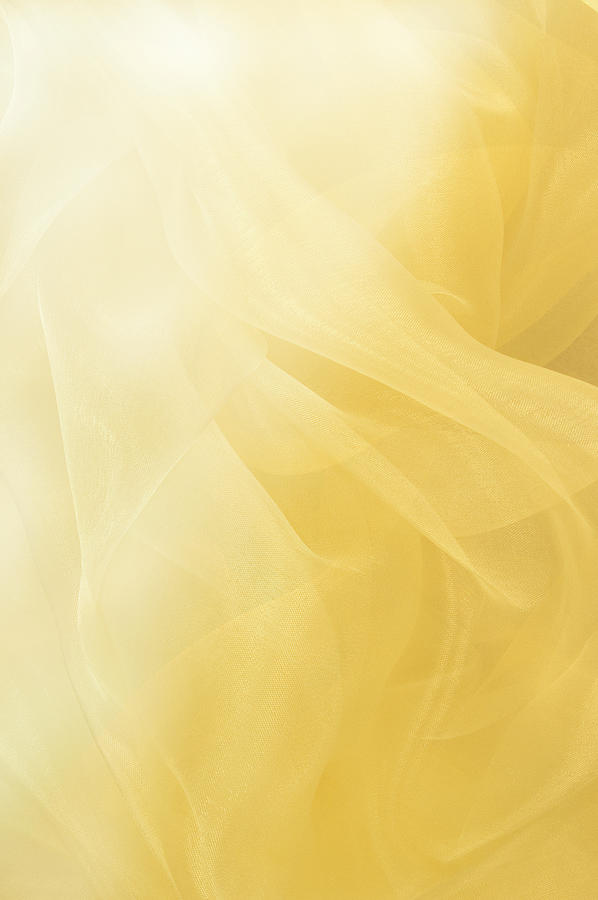 Flowing Yellow Abstract Background Photograph by Jcarroll-images