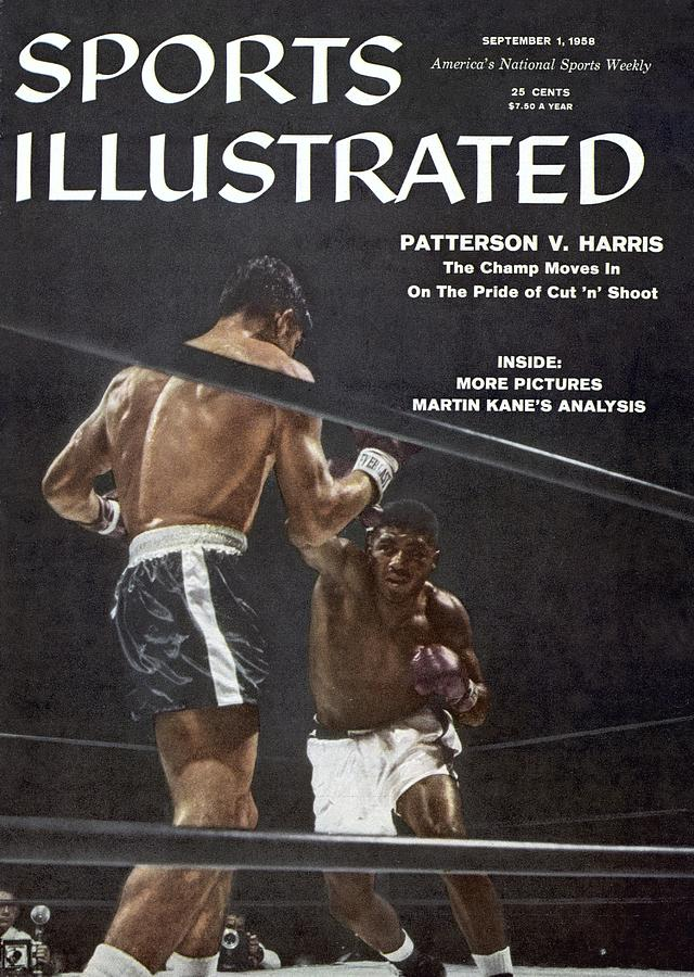 Floyd Patterson, 1958 World Heavyweight Title Sports Illustrated Cover Photograph by Sports Illustrated