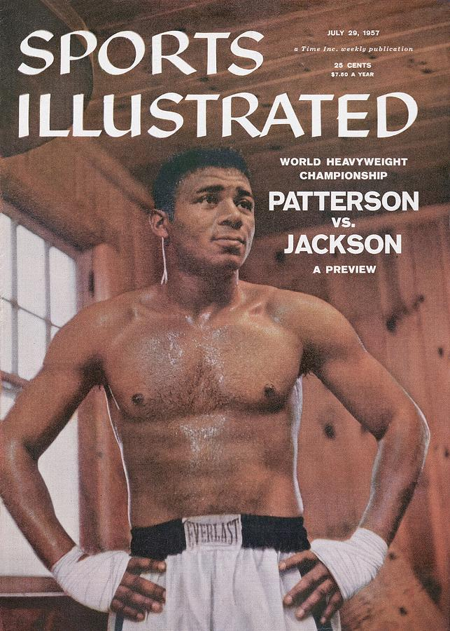 Floyd Patterson, Heavyweight Boxing Sports Illustrated Cover Photograph by Sports Illustrated