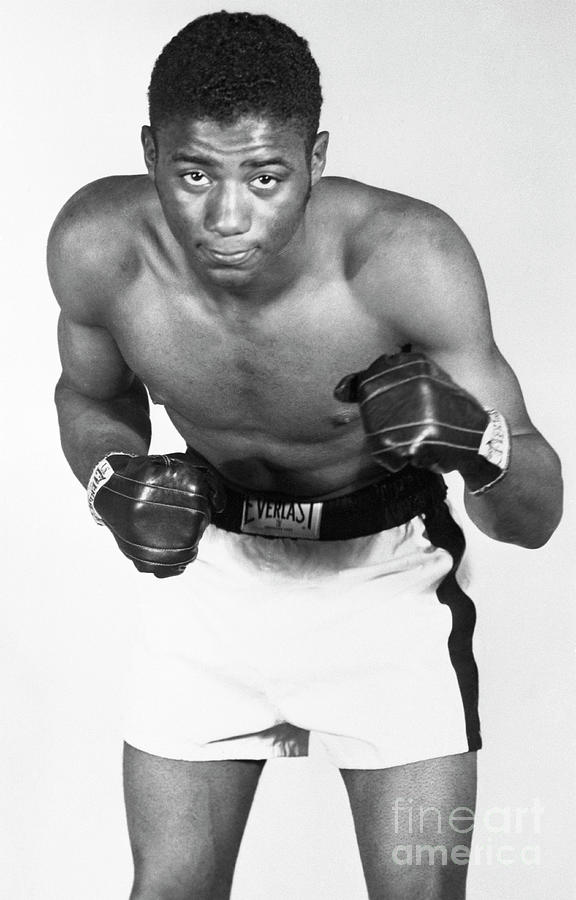 Floyd Patterson In Boxing Pose Photograph by Bettmann