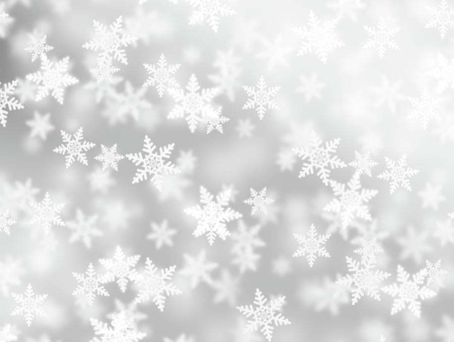 Fluffy Snowflakes Photograph by Loops7