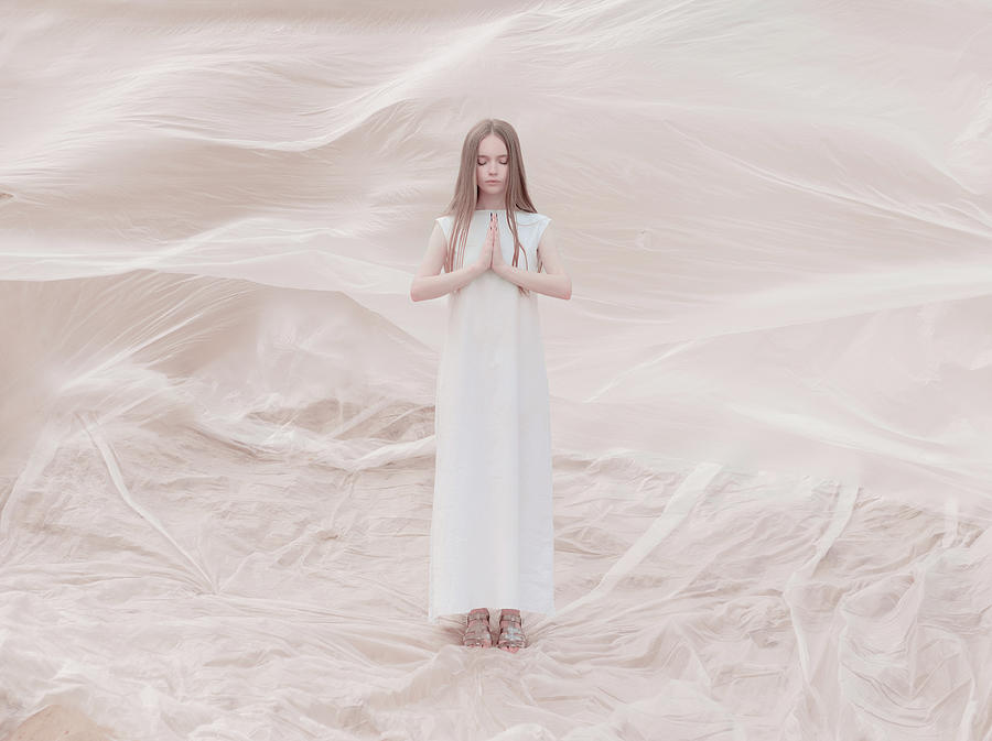 Zen Photograph - Fluid Space by Inna Mosina