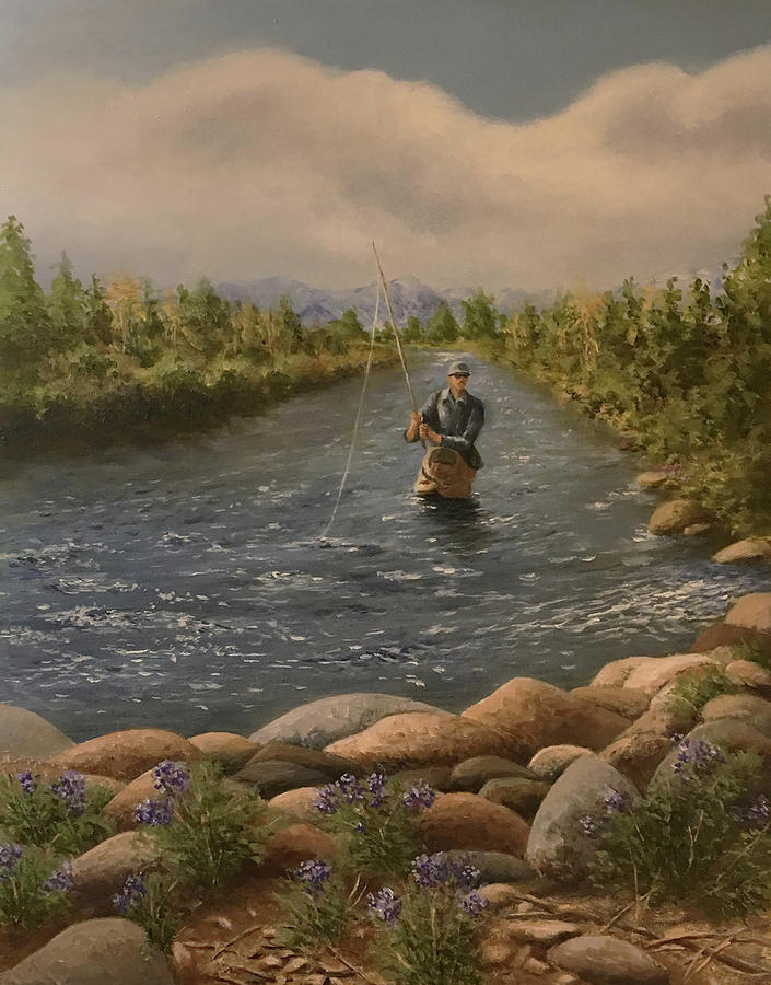 Fly Fishing 2 by Richard Ginnett