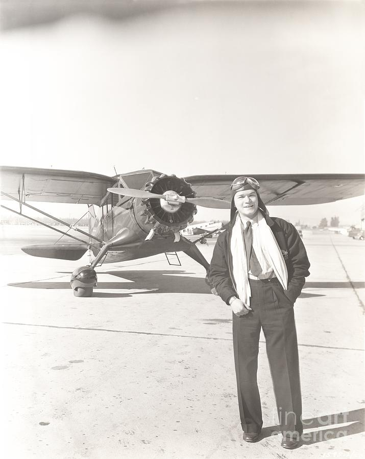 1940s Photograph - Fly Guy by Everett Collection
