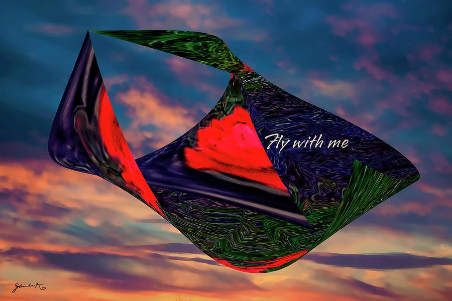 FLY WITH ME by Gerlinde Keating - Galleria GK Keating Associates Inc