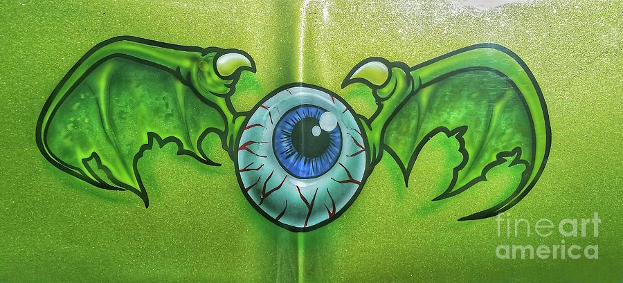 Flying Eyeball by Tony Baca
