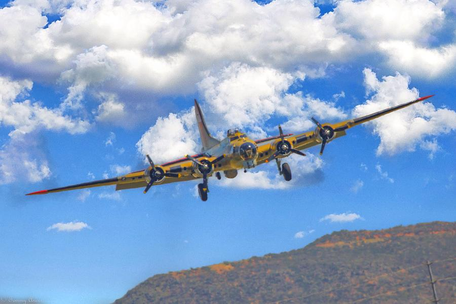 Flying Fortress on Final by Tommy Anderson
