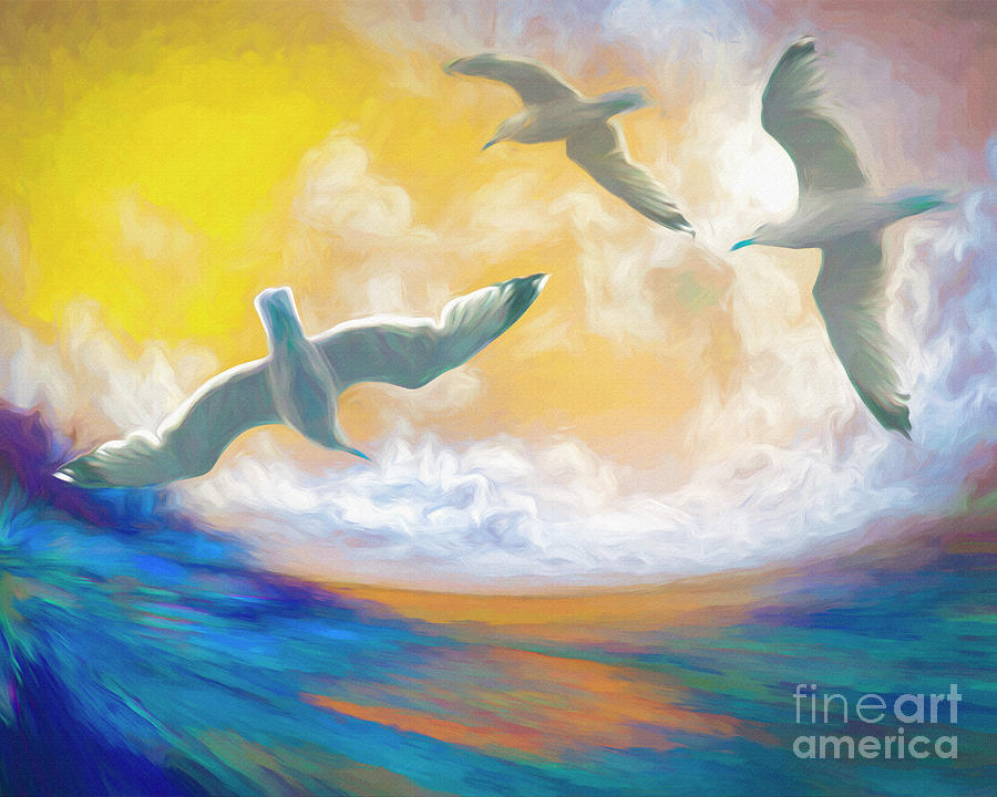 Flying Free by Edmund Nagele