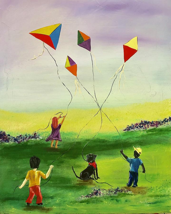 Flying Kites by Mary Rimmell
