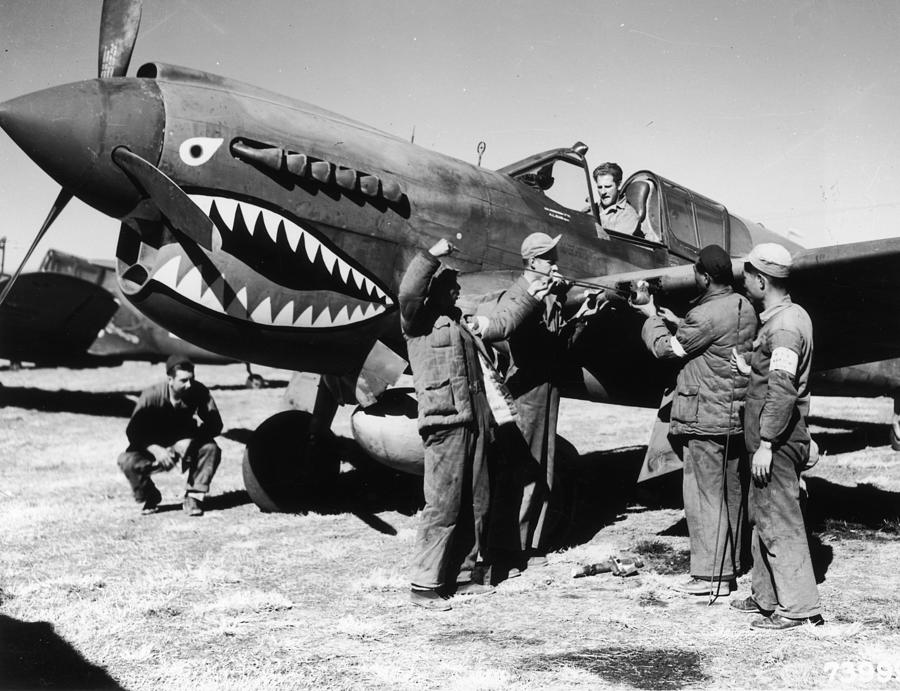 Flying Tigers Photograph by Fotosearch