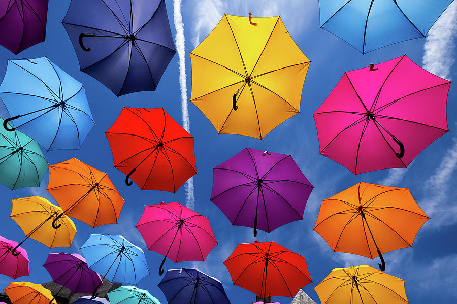 Flying Umbrellas I by Peter OReilly