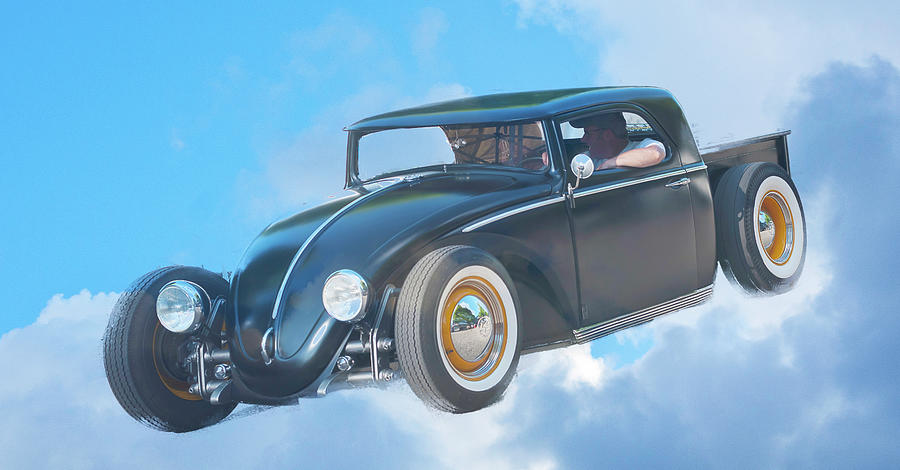 Flying VW by Ron Roberts