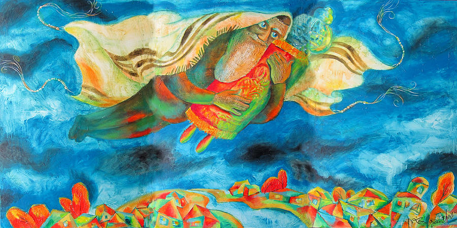Flying with Torah by Leon Zernitsky