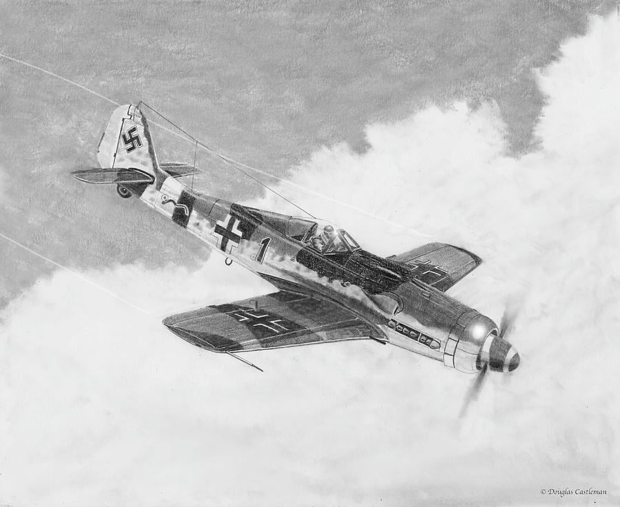 Focke-Wulf FW-190D by Douglas Castleman
