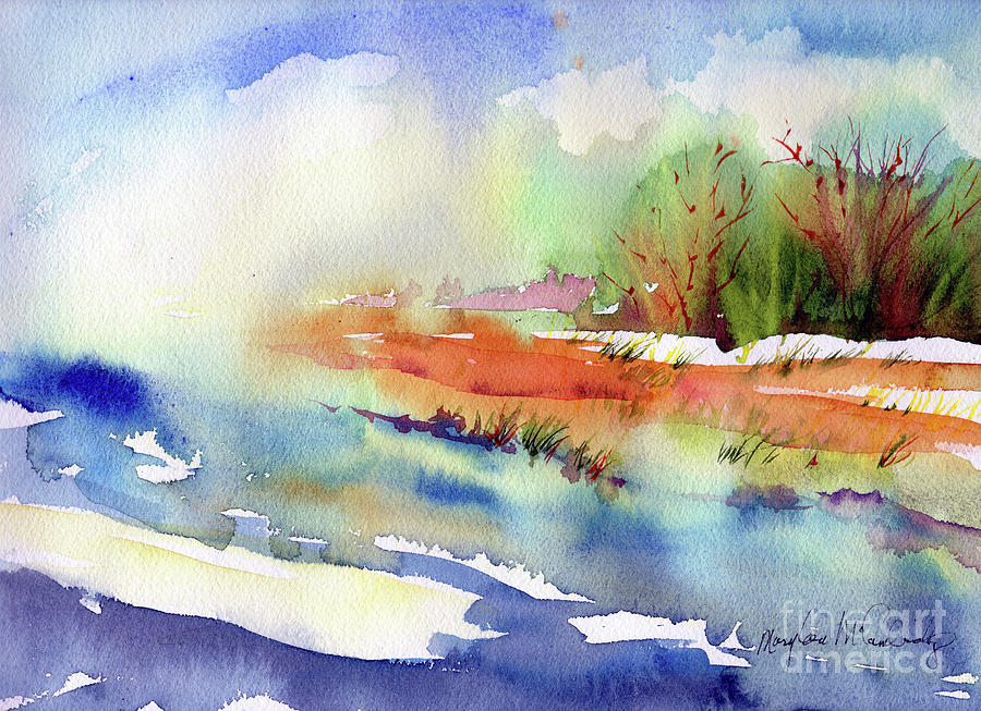 Fog in the Meadow by Mary Lou McCambridge
