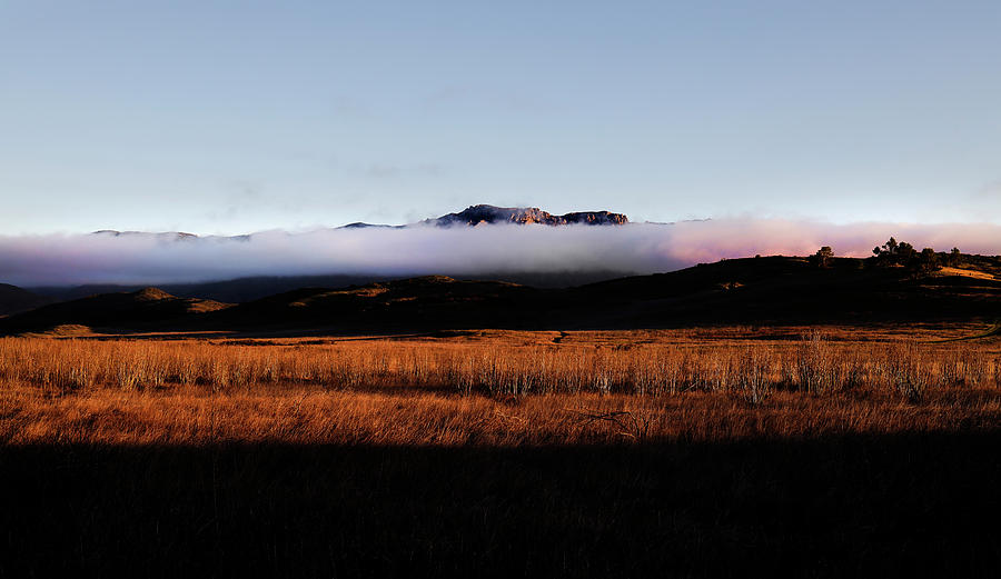 Fog Over Boney Mountain by John Rodrigues