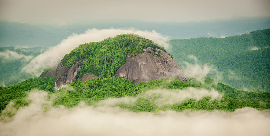 Fog Over Looking Glass Rock by Joye Ardyn Durham