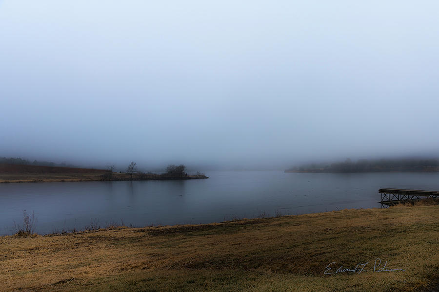 Foggy Day On The Lake by Edward Peterson