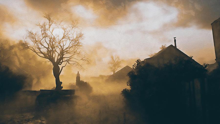 Foggy morning by Andrea Mazzocchetti