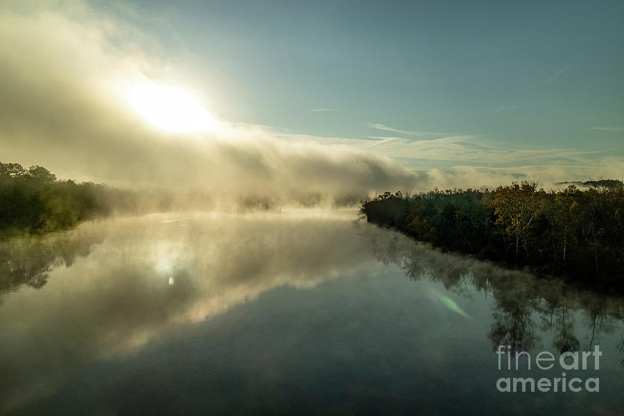 Foggy Morning on the Clinch River by Garry McMichael