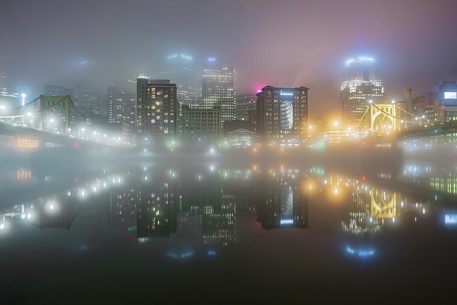 Foggy Night  by Emmanuel Panagiotakis