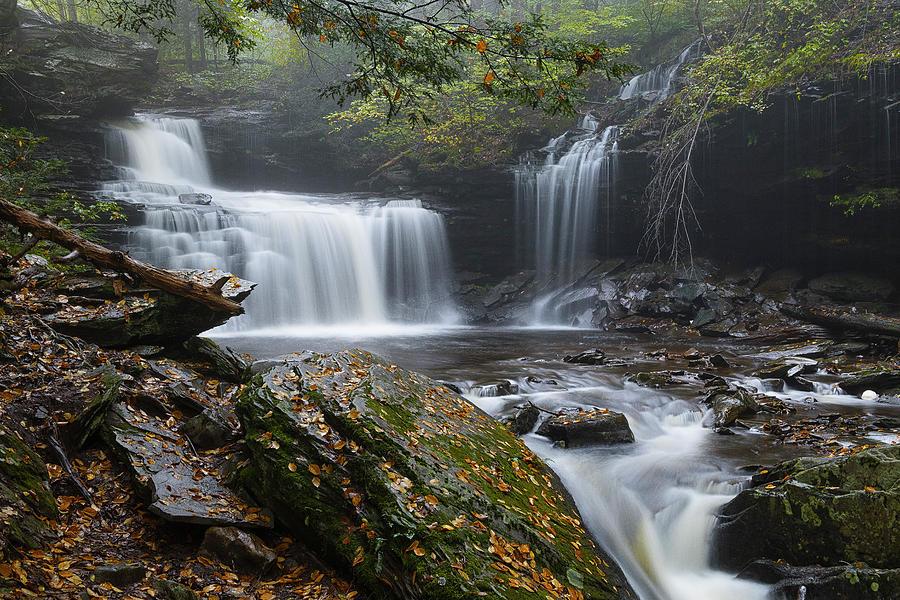 Foggy R.B. RIcketts Falls by Dennis Kowalewski
