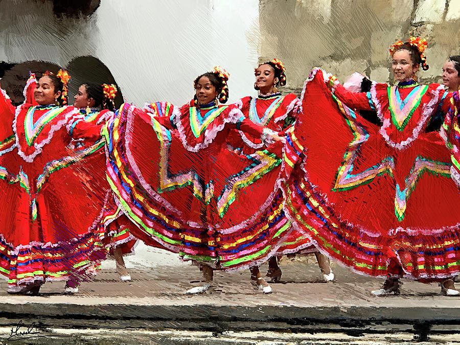 Folklorico Dancers by GW Mireles