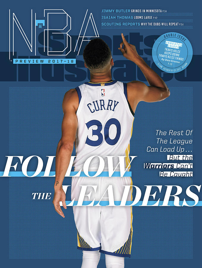 Follow The Leaders 2017-18 Nba Basketball Preview Sports Illustrated Cover Photograph by Sports Illustrated