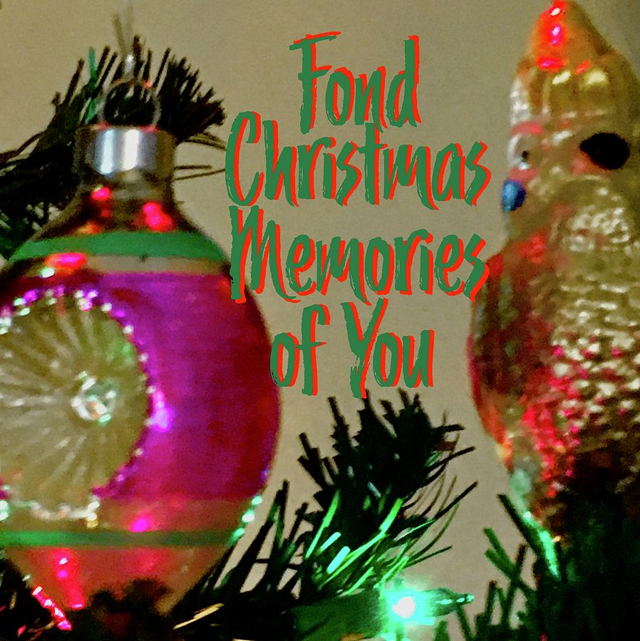 Fond Memories Vintage Ornaments by Debra Grace Addison
