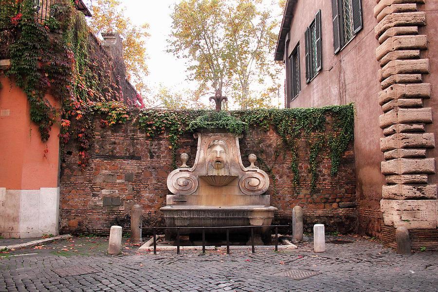 Fontana del Mascherone by Angela Rath
