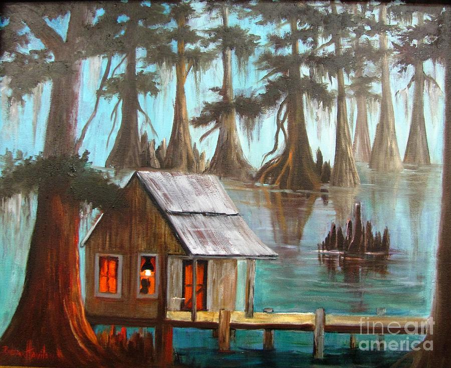 Fontenot's Cabin by Barbara Haviland