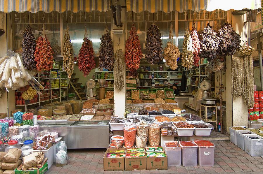 Food Shop At Boursch Hammoud Photograph by Maremagnum