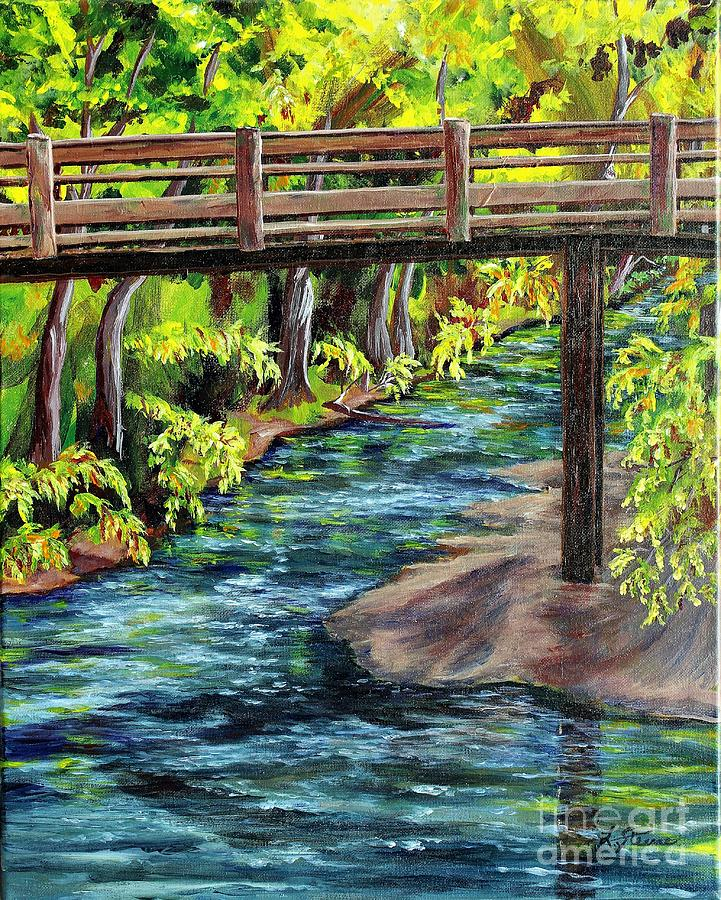 Foot Bridge  by Linda Steine