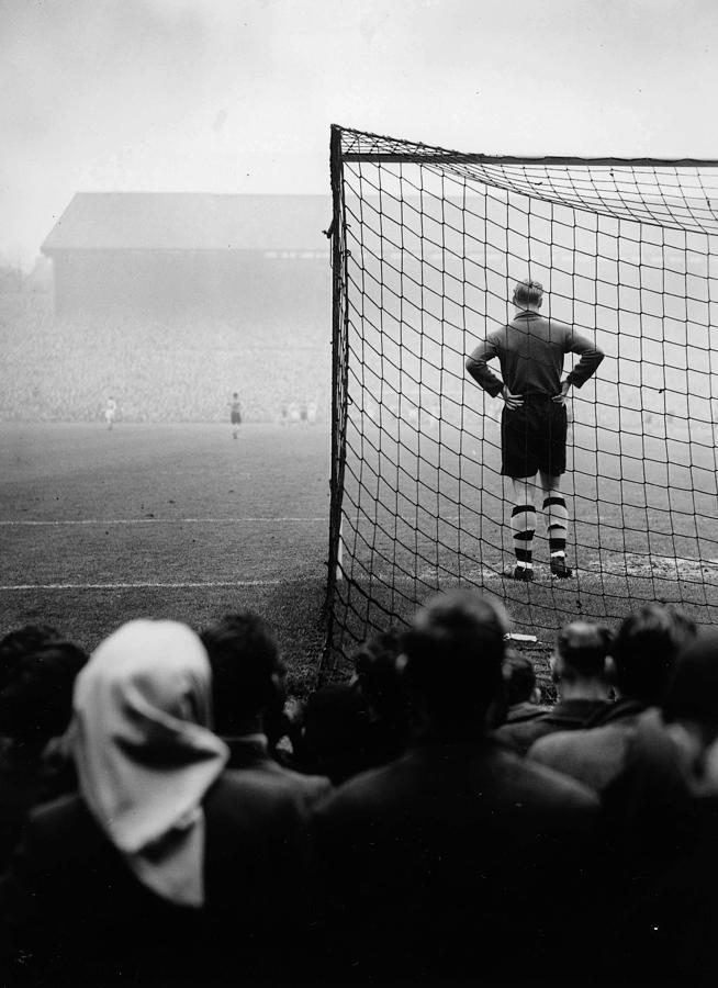 Football. 1950. Wolverhampton Photograph by Popperfoto