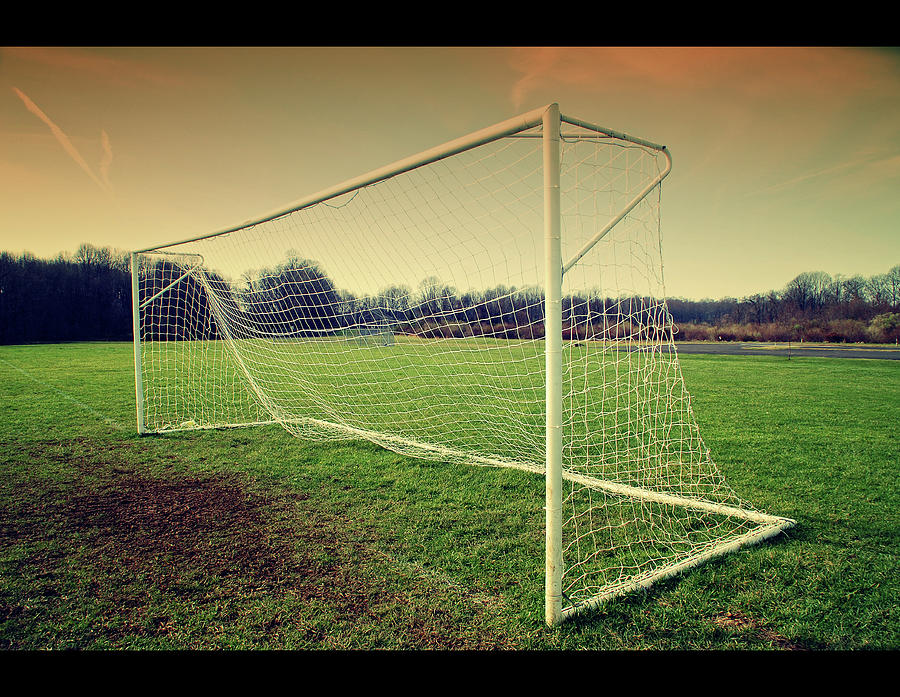 Football Goal Photograph by Federico Scotto