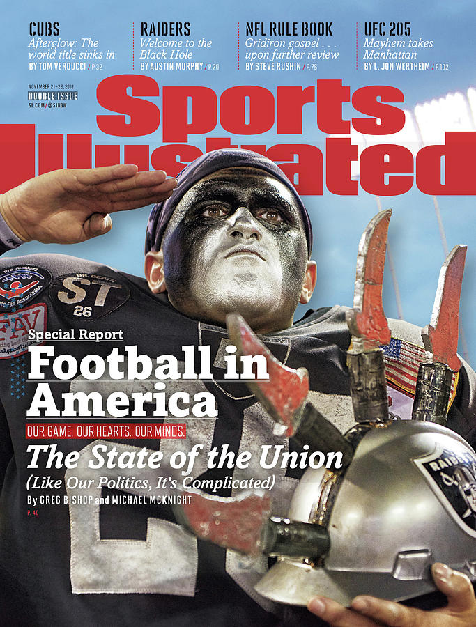Football In America The State Of The Union Sports Illustrated Cover Photograph by Sports Illustrated
