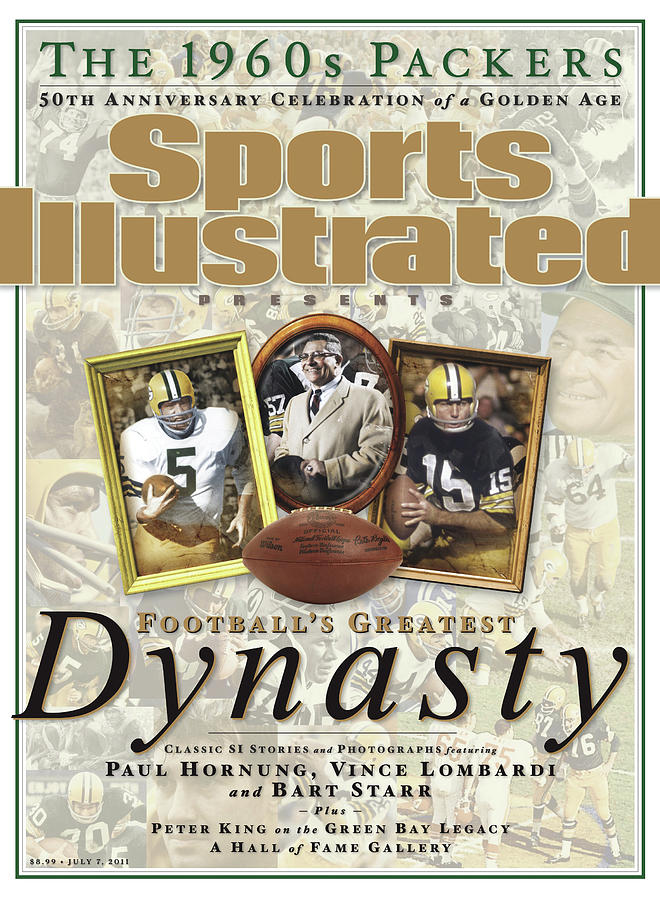 Footballs Greatest Dynasty The 1960s Packers Sports Illustrated Cover Photograph by Sports Illustrated
