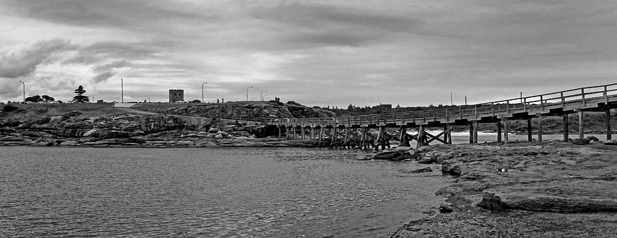 Footbridge From Bare Island To La Perouse  by Miroslava Jurcik