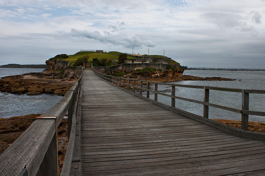 Footbridge To Bare Island by Miroslava Jurcik