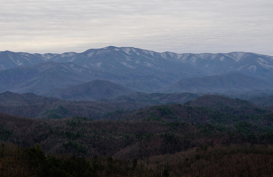 Foothills Parkway The Missing Link Photograph