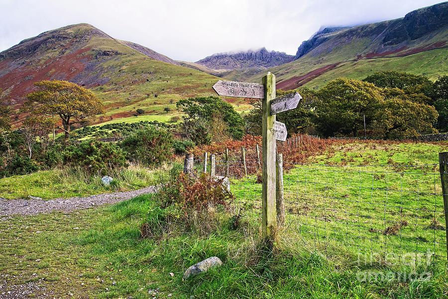 Footpath to Scafell Pike by Martyn Arnold