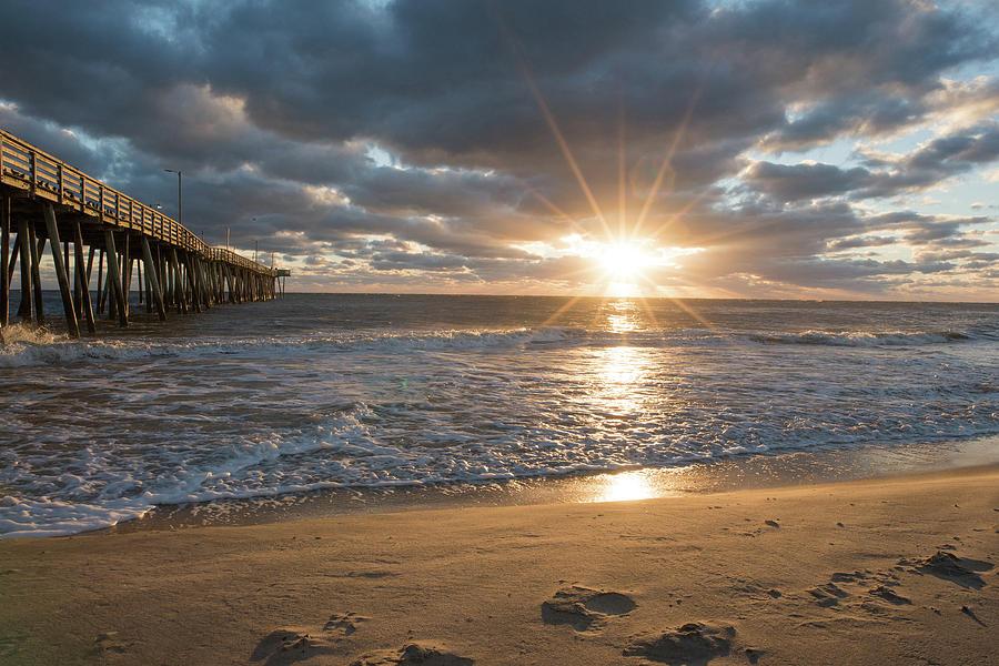 Virginia Beach Sunrise by Doug Ash