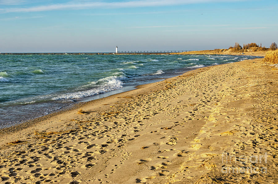Footprints in the Sand by Sue Smith