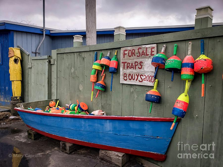 For Sale Traps Bouys by Mary Capriole