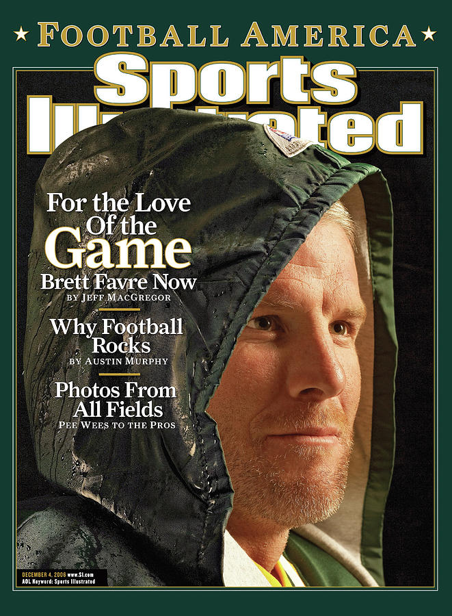 For The Love Of The Game Brett Favre Now Sports Illustrated Cover Photograph by Sports Illustrated