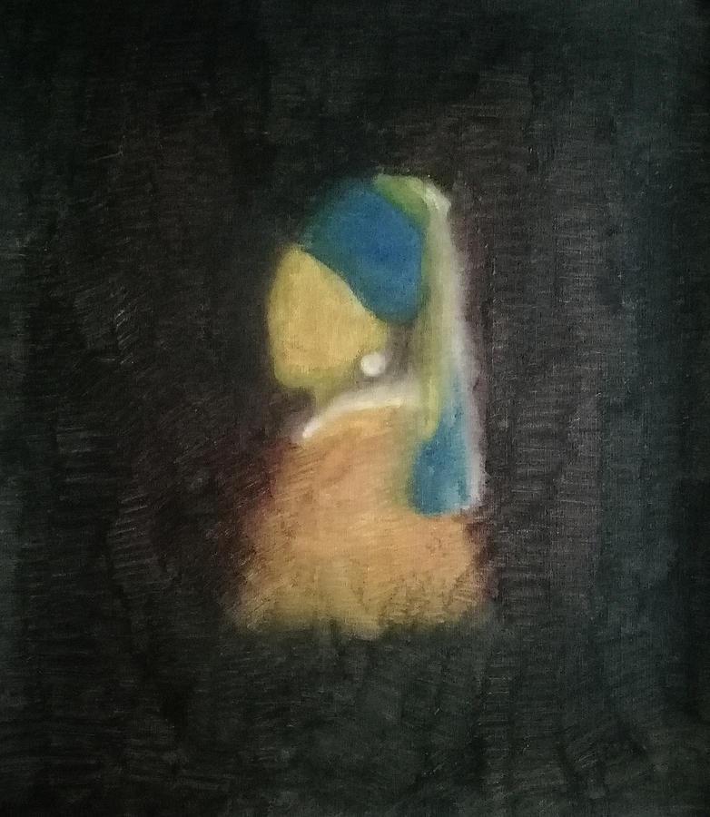 Johannes Vermeer Painting - For Vermeers Girl With A Pearl Earring by Khandker Tarek